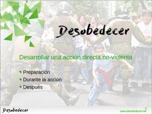 Presentación LibreOffice de la metodología de una acción directa noviolenta