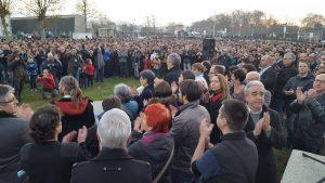 Concentración en Baiona el sábado 17 de diciembre en apoyo a las personas detenidas por participar en el desarme de ETA.