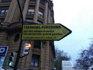 Carteles Txernobil, Fukushima