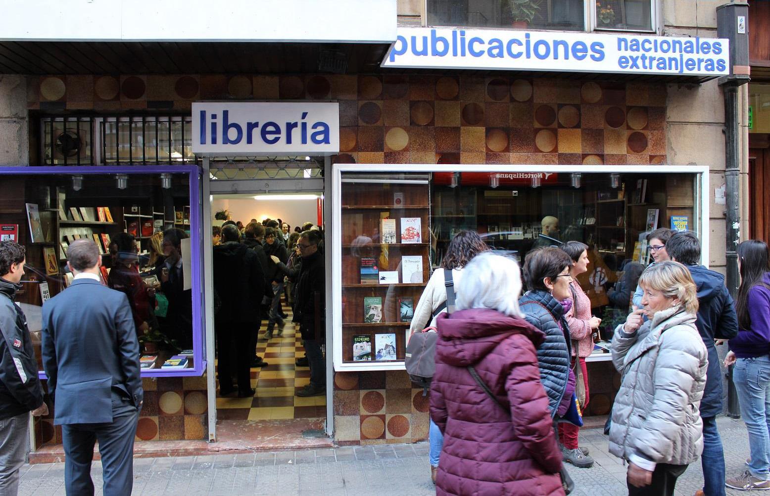 Libreria Louise Michel en Bilbao