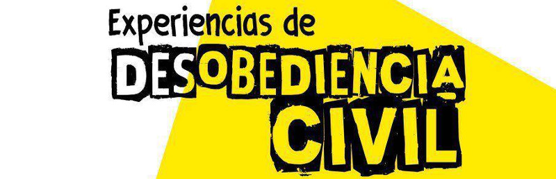 Experiencias de desobediencia civil banner2