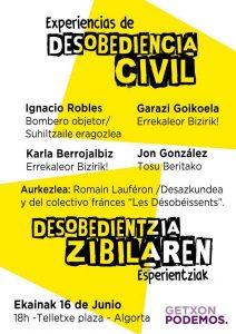 Un evento organizado por Getxon Podemos.