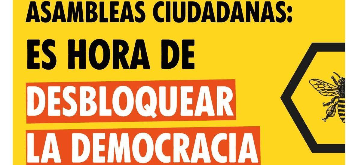 Asamblea Ciudadana por lel clima para desbloquear la democracia